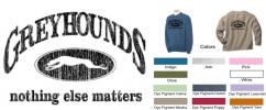 GW: P-14 Greyhounds, Nothing Else Matters Sweatshirt - Click For Enlargement